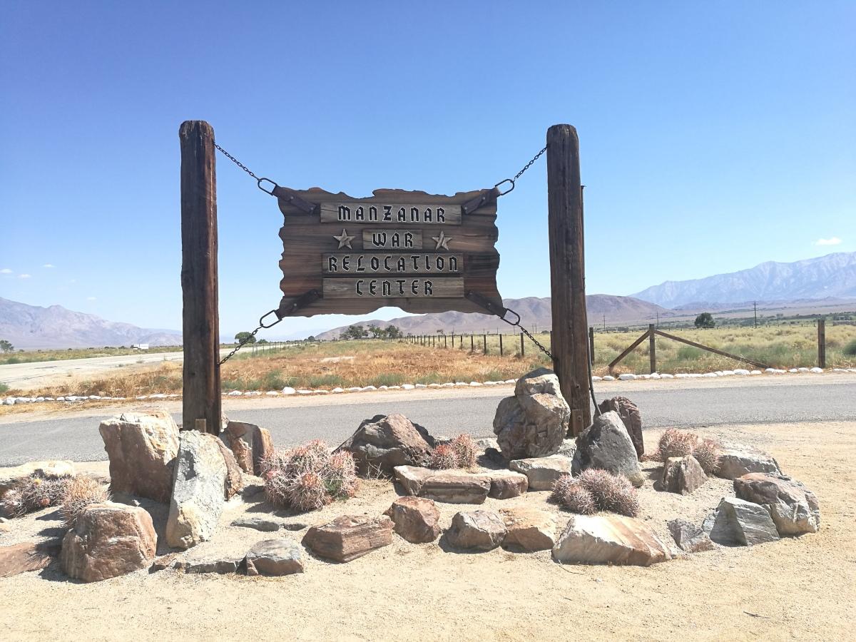 Manzanar War Relocation Center - California